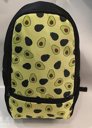 Новый городской рюкзак,мелкий авокадо