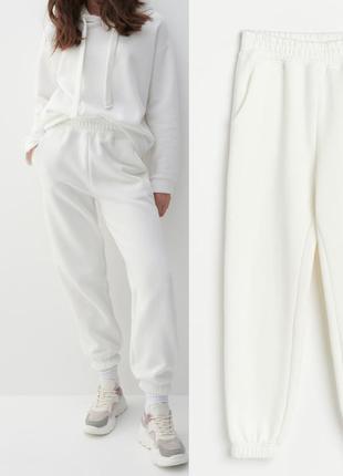 Теплые спортивные штаны reserved, женские брюки на флисе
