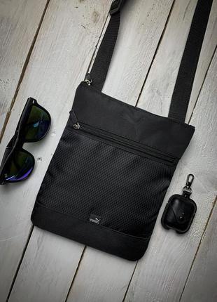 Новая стильная сумка барсетка через плечо качественная / клатч слинг / кроссбоди