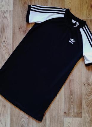 Платье футболка adidas