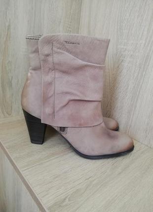 Ботинки кожаные демисезонные 40 размер