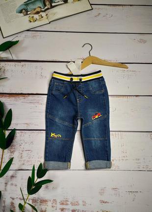 9-12 мес джинсы новые m&co