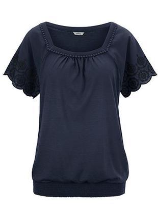 Футболка блуза размер 44-54 наш tchibo тсм