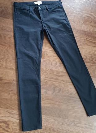 Чорні джинсові штани mango eur 38