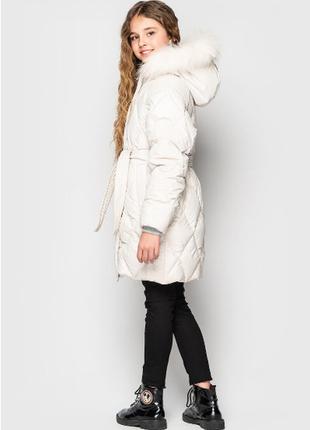 Куртка для девочки  зима из эко пуха