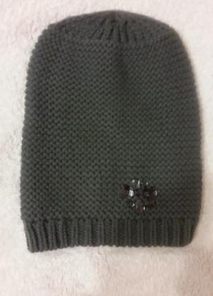 Серая шапка tcm tchibo