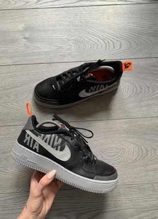 Nike air force 1, кожаные кроссовки р. 38,5 оригинал найк