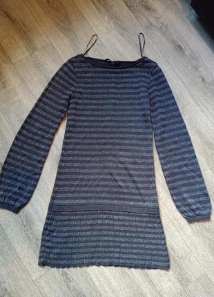 Красивое, стильное платье с блёстками на девочку 11-12 лет  star by