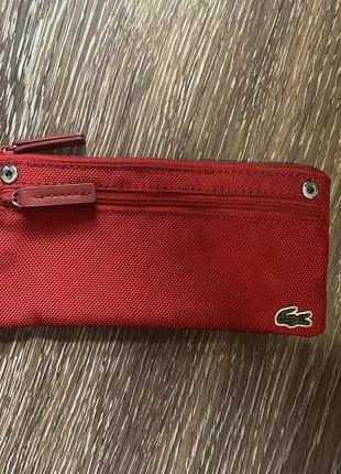 Кошелёк,пенал,сумка lacoste