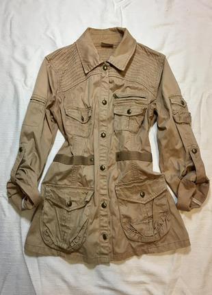 Куртка жіноча бежева