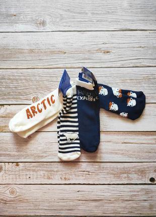 Махровые носки махрові шкарпетки 27/30 4-6 лет lupilu для мальчика хлопчика