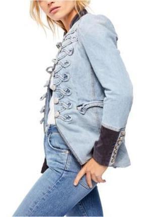 Джинсковая куртка ralph lauren