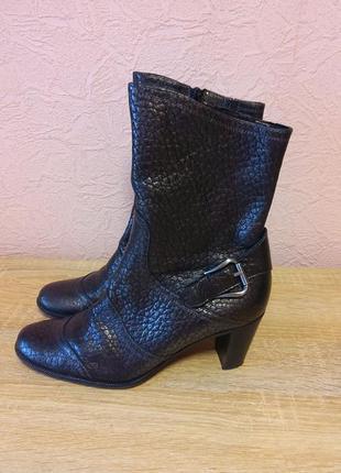 Красивые ботинки  kennel  und schmenger натуральная кожа акция 1+1=3