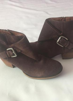 Ботинки indigo натуральная замша