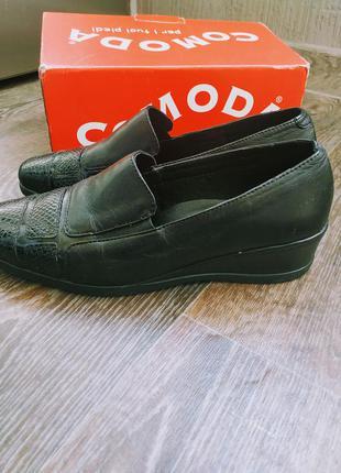 Туфли натуральная кожа италия