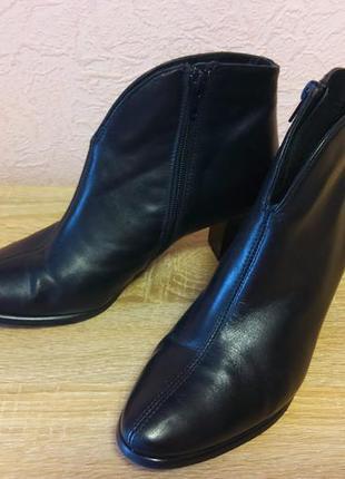 Красивые ботинки  riva натуральная кожа акция 1+1=3