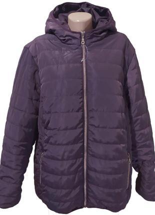 Стеганая демисезонная женская куртка blue motion
