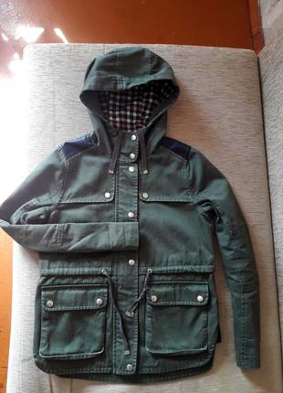 Классная куртка осень парка деми