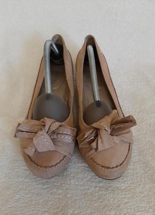 Кожаные туфли фирмы smp shoes boots p.38-39 стелька 25см