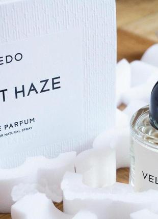 Byredo velvet haze оригинал затест распив и отливанты аромата