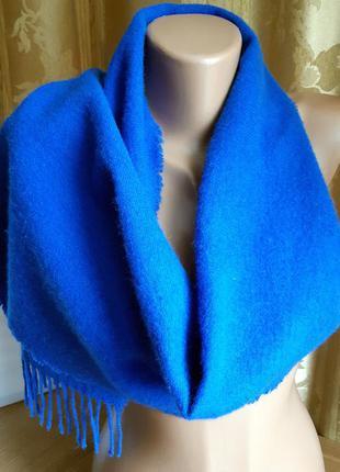 Теплый шарф 100% lambswool /tie reck/ james johnston/ шотландия/ винтаж.