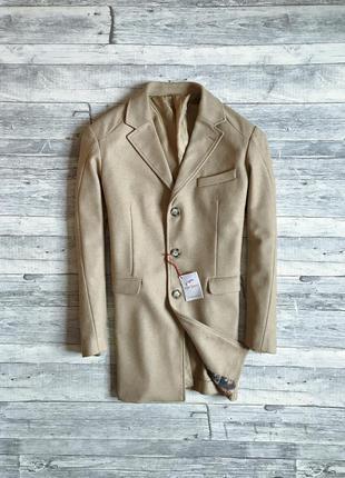 Мужское итальянское пальто falko rosso