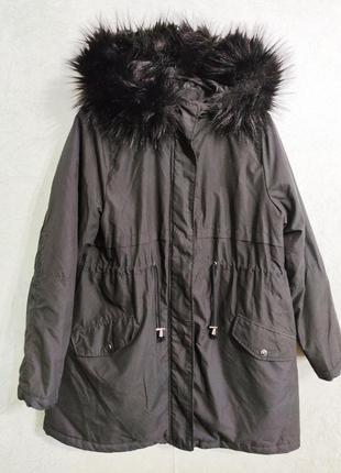 Куртка парка демисезонная  для беременных eur 40 new look maternity