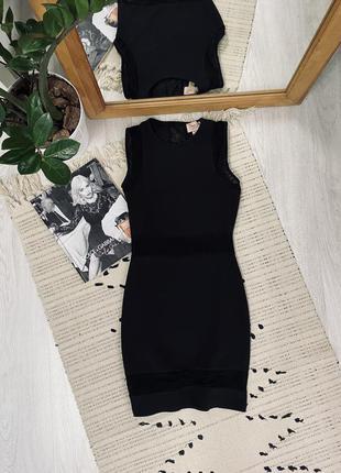 Шикарне платтячко з сіткою від topshop🌿