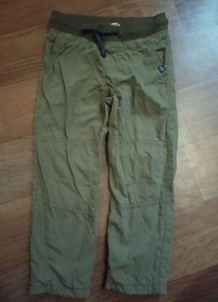 Котоновые штаны на подкладке н& рост 110(3-4 года)в идеале