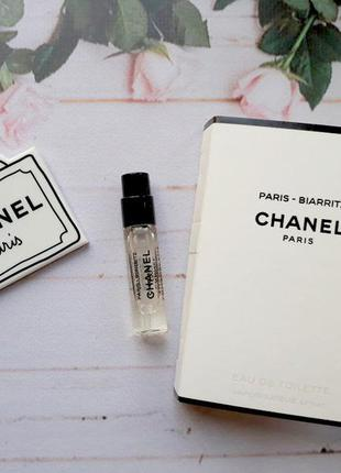 Chanel paris biarritz оригинал затест распив и отливанты аромата