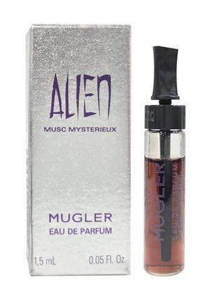 Thierry mugler alien musc mysterieux парфюмированная вода женская, 1.5 мл (пробник)