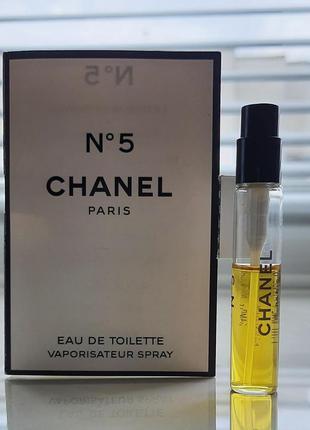Chanel n5 туалетная вода - пробник миниатюра на 4 мл