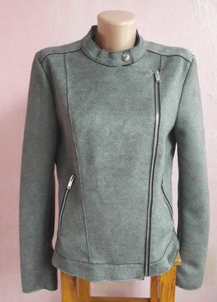 Куртка косуха велюровая замш