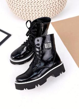 Ботинки деми/зима кожа