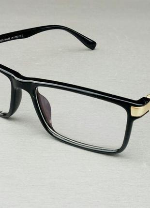 Hugo boss очки имиджевые компьютерные оправа для очков унисекс черная с золотом