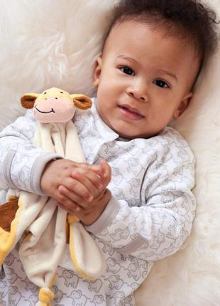Jojo maman bebe комфортер обнимашка для спокойного сна малыша с рождения