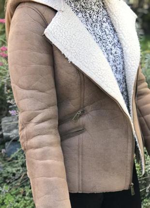 Дубльонка куртка полушубок