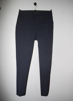 Классические брюки из смесовй шерсти . темно темно синие . очень теплые !)
