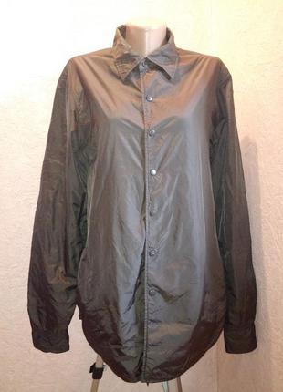Термокуртка рубашечного кроя,люкс бренда aspesi италия/мужск.сторона