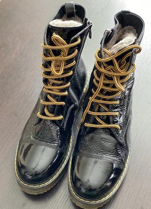 Тёплые ботинки