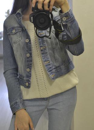 Джинсовая куртка, курточка, джинс