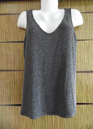Блуза топ, f&f размер 14(42) – идет на 48-50+.