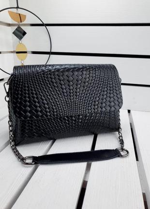 Женская кожаная сумка жіноча шкіряна сумочка клатч кожаный