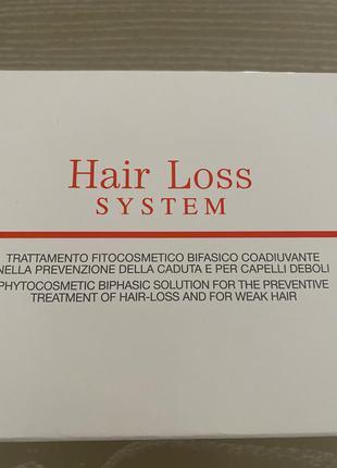 Ампулы интенсивного ухода за волосами orising hair loss system