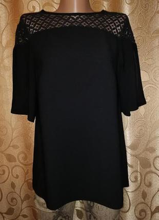 🌹🌹🌹красивая женская черная блузка, кофта f&f🌹🌹🌹