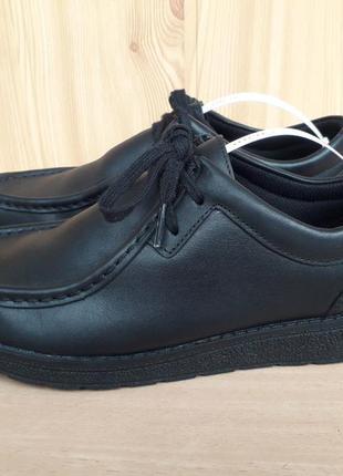 Туфлі, мокасини clarks, кожа