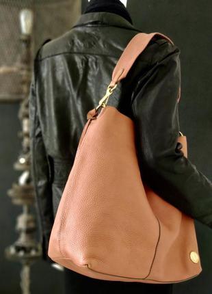 Vince  camuto.  большая сумка из натуральной кожи.