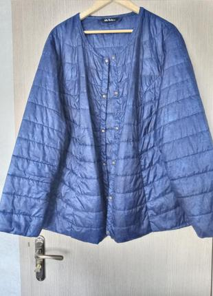 Стильна демісезонна куртка(супер батал)