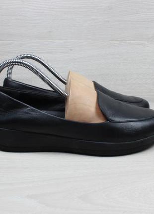 Женские кожаные туфли fitflop, размер 40