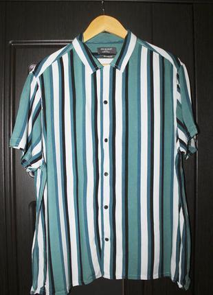 Рубашка в полоску, гавайская рубашка